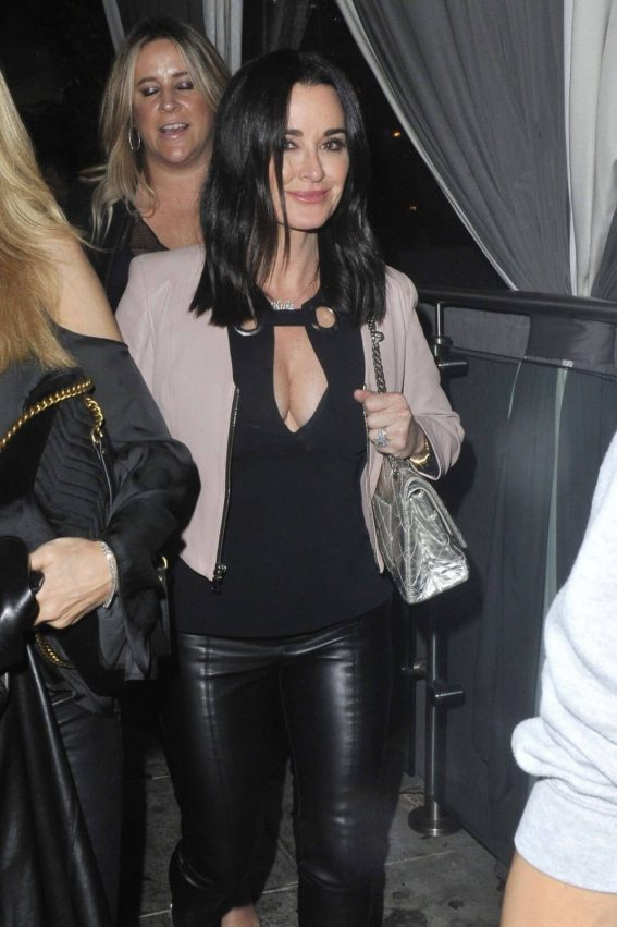 Kyle Richards Stills Night Out in West Hollywood 2018/02/10