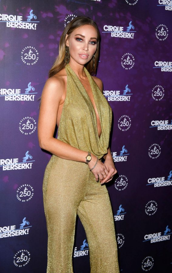 Lauren Pope Stills at Cirque Berserk! Gala Performance in London 2018/02/05