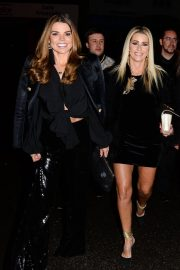 Leanne Brown and Tanya Bardsley Stills Night Out in Wilmslow 2018/02/03