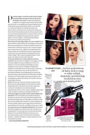 Lily Collins Stills in Instyle Magazine, Poland March 2018 Issue