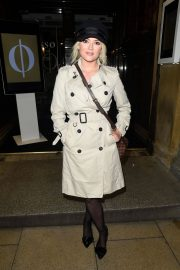 Lucy Fallon Stills at Rosso Restaurant in Manchester 2018/01/11