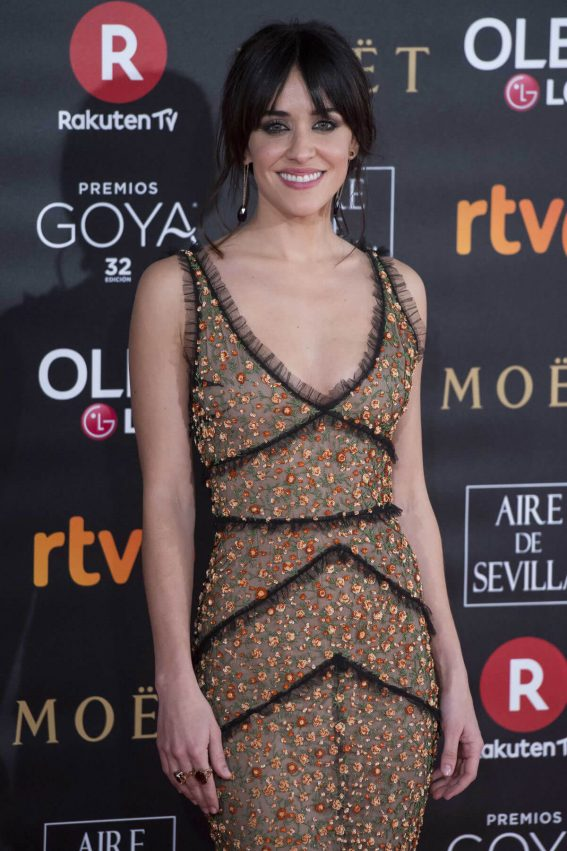 Macarena Garcia Stills at 32nd Goya Awards in Madrid 2018/02/03
