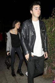Madison Beer and Zack Bia Stills at Delilah Nightclub in West Hollywood 2018/02/04