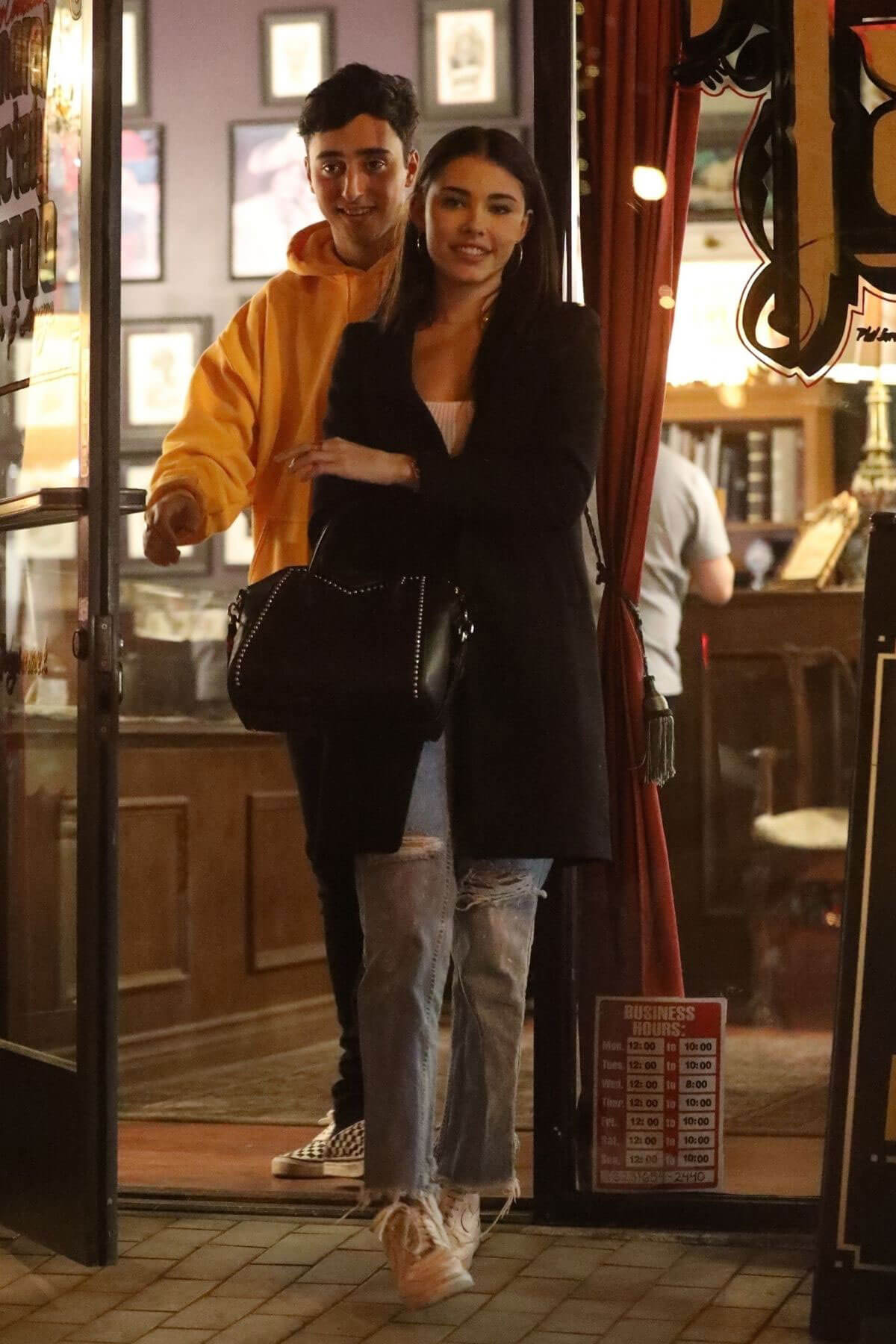 Madison Beer Stills Gets a Tattoo on Ankle at a Tattoo Shop in Santa Monica 2017/12/06