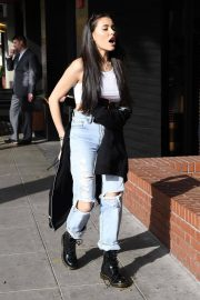 Madison Beer Stills Out for Lunch in Beverly Hills 2018/02/01