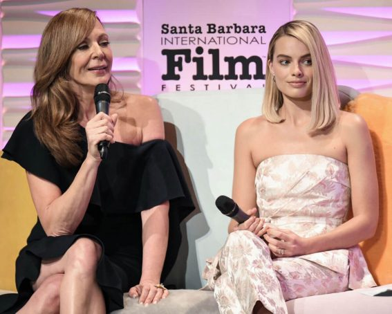 Margot Robbie and Allison Janney Stills at Outstanding Performers of the Year Award Show at 33rd Santa Barbara International Film Festival 2018/02/08
