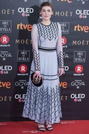 Marta Nieto Stills at 32nd Goya Awards in Madrid 2018/02/03