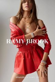 Martha Hunt Poses for Ramy Brook, Spring 2018 Issue