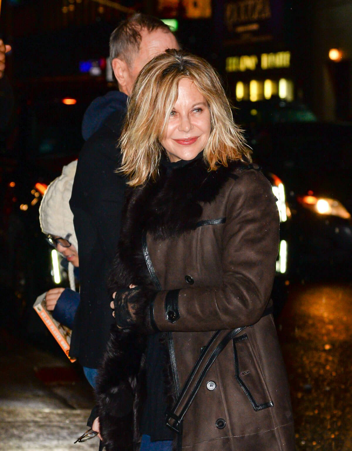 Meg Ryan Stills Out and About in New York 2018/02/01