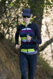Nicole Kidman Stills Out Jogging at Franklin Canyon Park in Beverly Hills 2018/01/28
