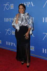 Niecy Nash Stills at HFPA 75th Anniversary Celebration and NBC Golden Globe Special Screening in Hollywood 2017/12/08