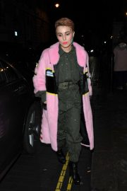 Noomi Rapace Stills Arrives at Love and Miu Miu Women's Tales Party in London 2018/02/19