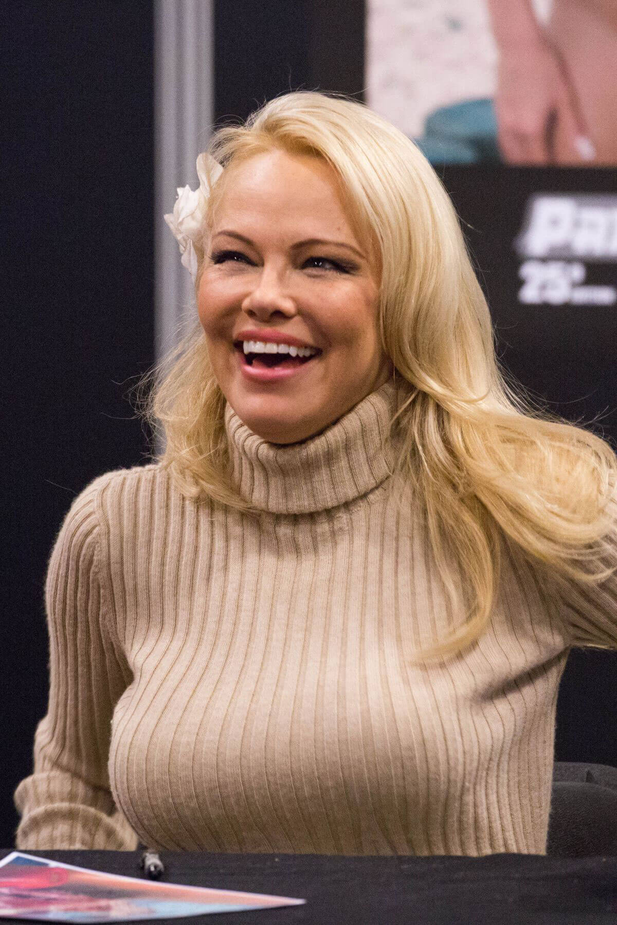 Pamela Anderson Stills at 25th Paris Manga and Sci-fi Show in Paris 2018/02/03