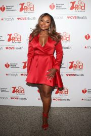 Phaedra Parks Stills at Go Red for Women Red Dress Collection 2018 Presented by Macy's in New York 2018/02/08