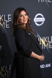Pregnant Eva Longoria Stills at A Wrinkle in Time Premiere in Los Angeles 2018/02/26