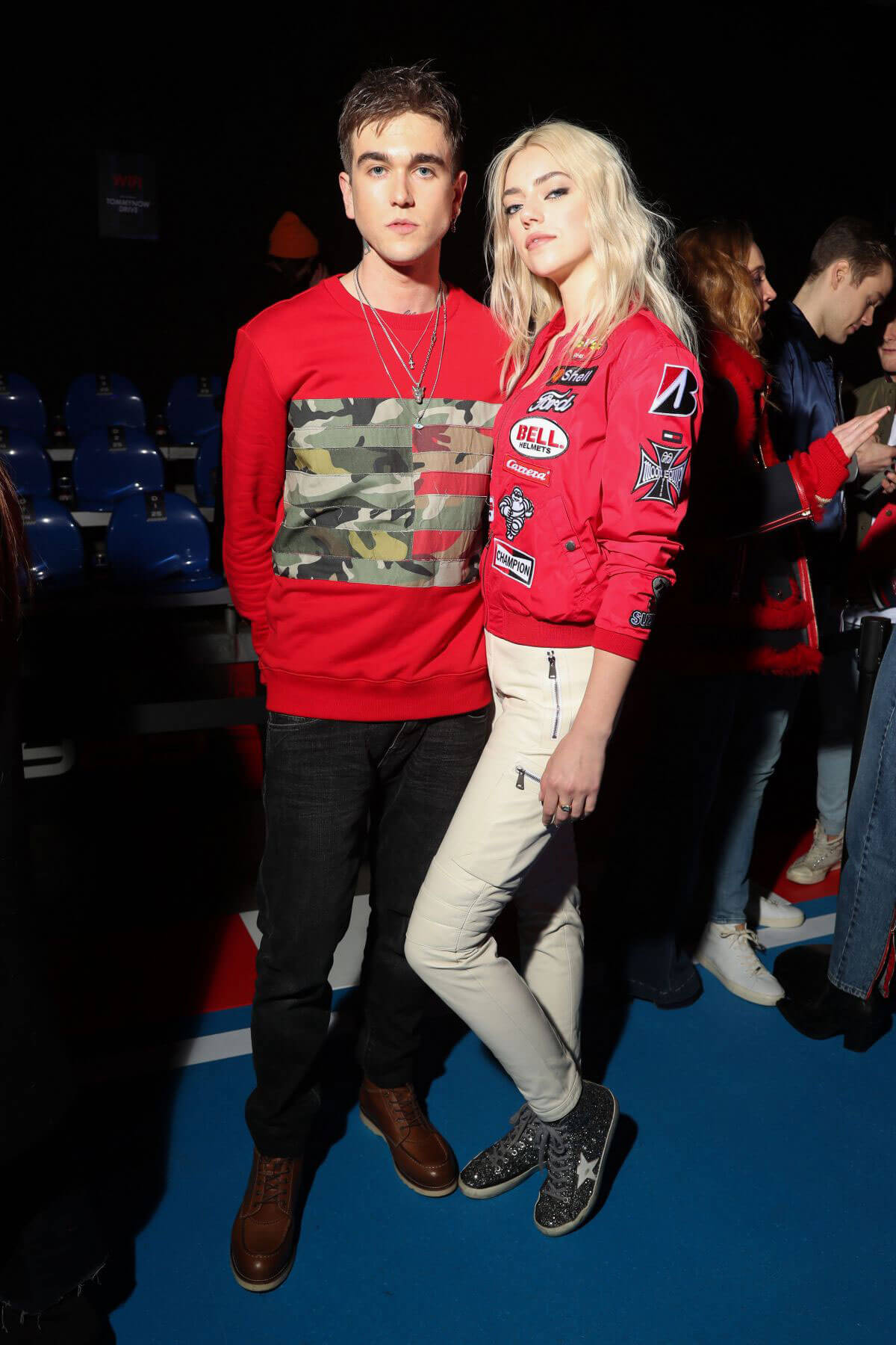 Pyper America Stills at Tommy Hilfiger Fashion Show in Milan 2018/02/25