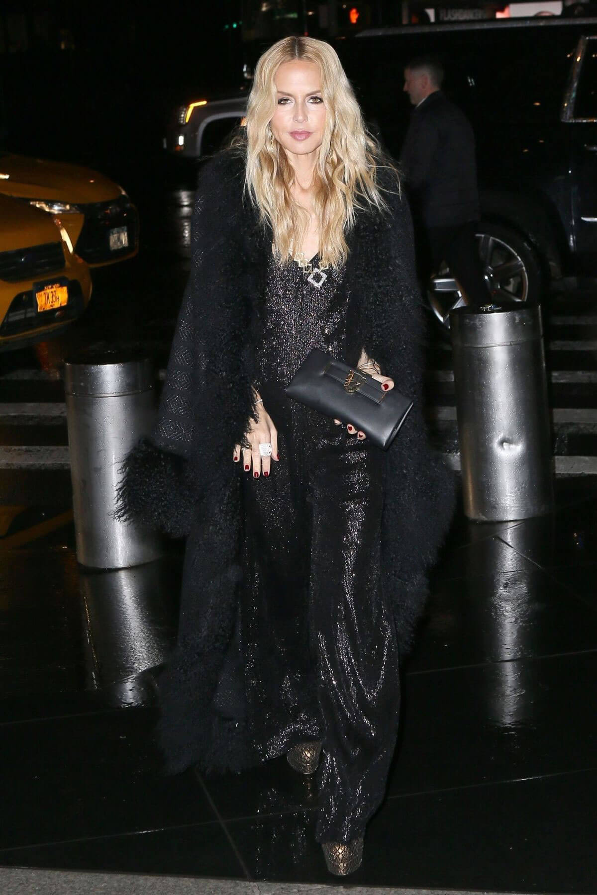 Rachel Zoe Stills at Brandon Maxwell Fashion Show at NYFW in New York 2018/02/11