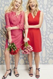 Reese Witherspoon and Ava Phillippe Stills for Draper James Valentine's Day 2018 Campaign