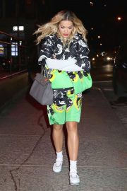 Rita Ora Stills Out and About in New York 2018/01/31