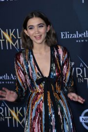 Rowan Blanchard Stills at A Wrinkle in Time Premiere in Los Angeles 2018/02/26