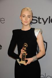Saoirse Ronan Stills at Instyle and Warner Bros Golden Globes After-party in Los Angeles 2018/01/07