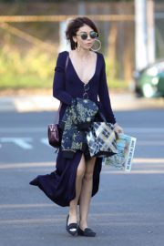 Sarah Hyland Stills Arrives at a Party in Studio City 02/24