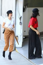 Shanina Shaik and Nicole Williams Stills Out for Lunch at Soho House in Los Angeles 2018/02/25