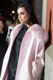 Sofia Carson Stills at Marc Jacobs Fashion Show at NYFW in New York 2018/02/14