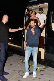 Sofia Richie and Scott Disick Stills at LIV Nightclub in Miami 2017/12/08
