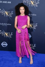 Sofia Wylie Stills at A Wrinkle in Time Premiere in Los Angeles 2018/02/26