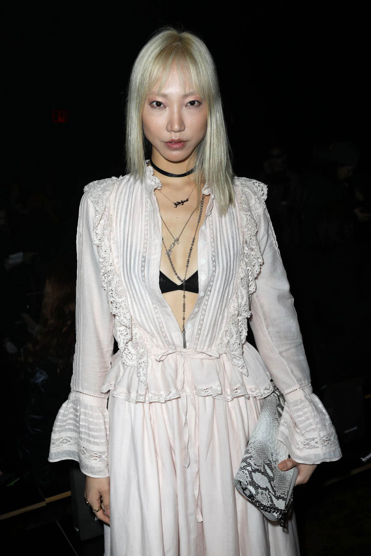 Soo Joo Park Stills at Zadig & Voltaire Runway Show at NYFW in New York 2018/02/12