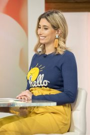 Stacey Solomon Stills at Loose Women Show in London 2018/02/01