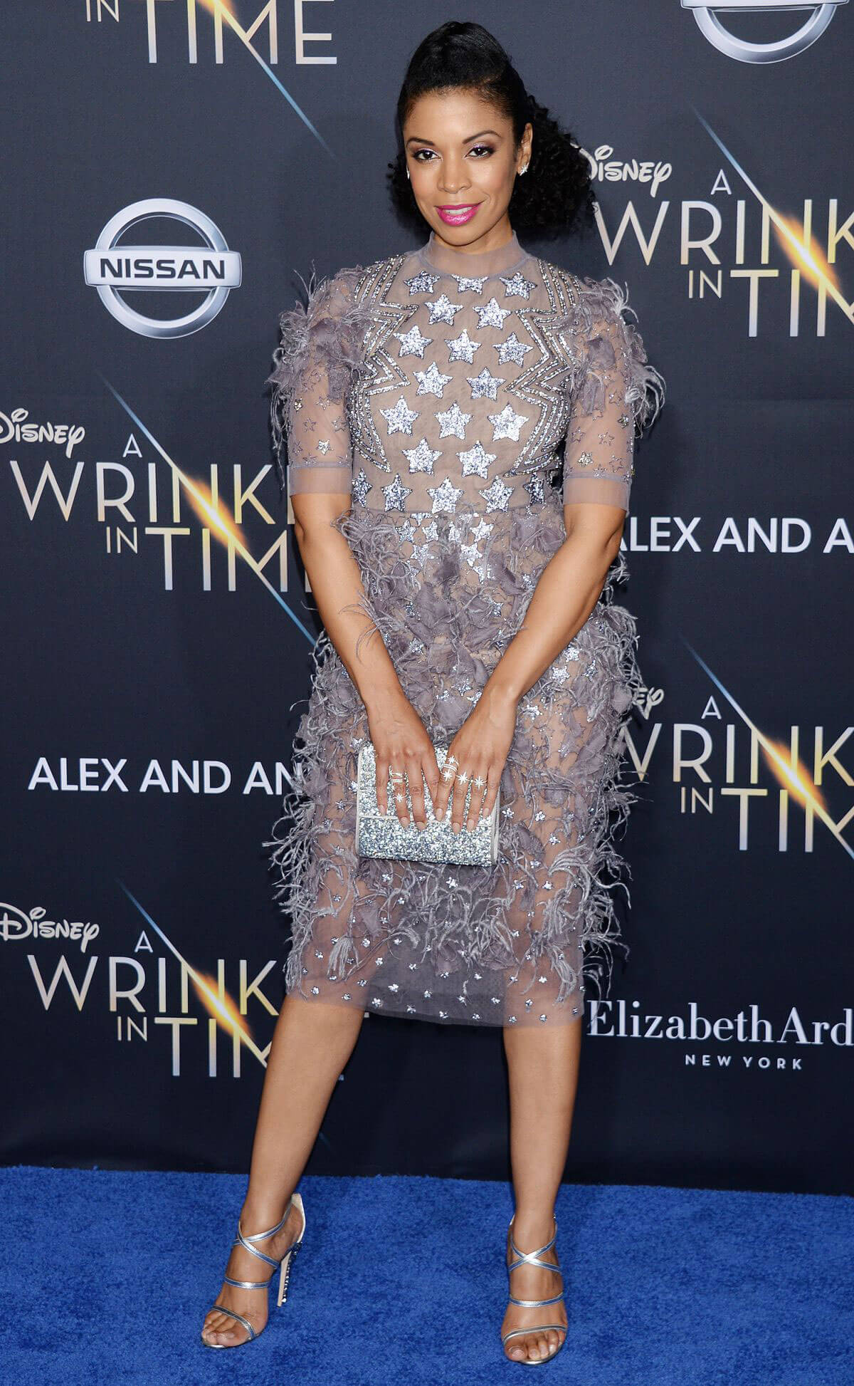 Susan Kelechi Watson Stills at A Wrinkle in Time Premiere in Los Angeles 2018/02/26