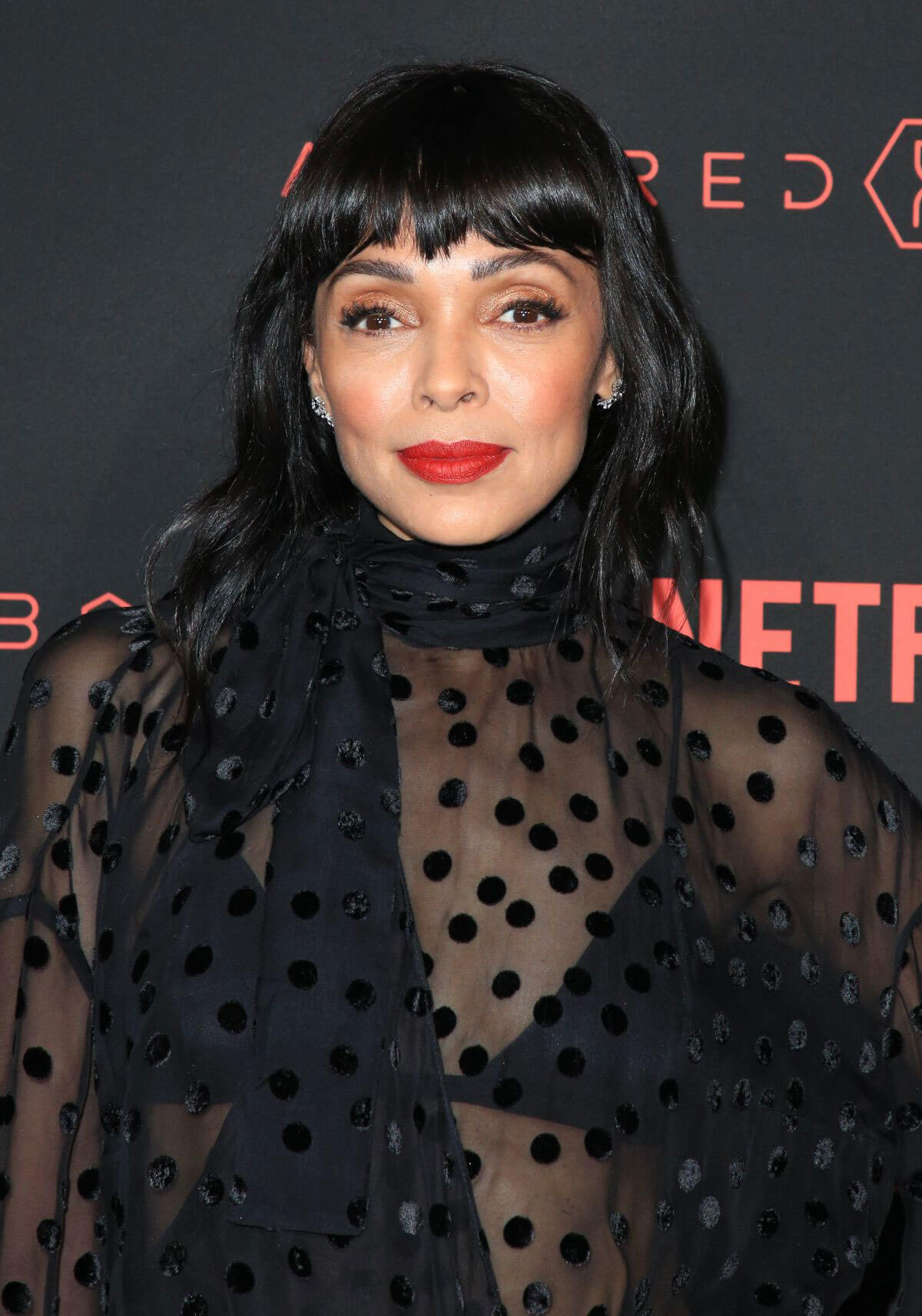 tamara taylor stills at altered carbon premiere in los