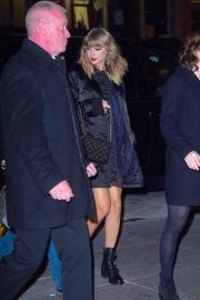 Taylor Swift Stills Leaves Mastro's Steakhouse in New York 2017/11/11