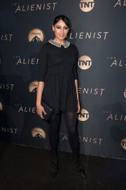Tehmina Sunny Stills at The Alienist Premiere in Los Angeles 2018/01/11