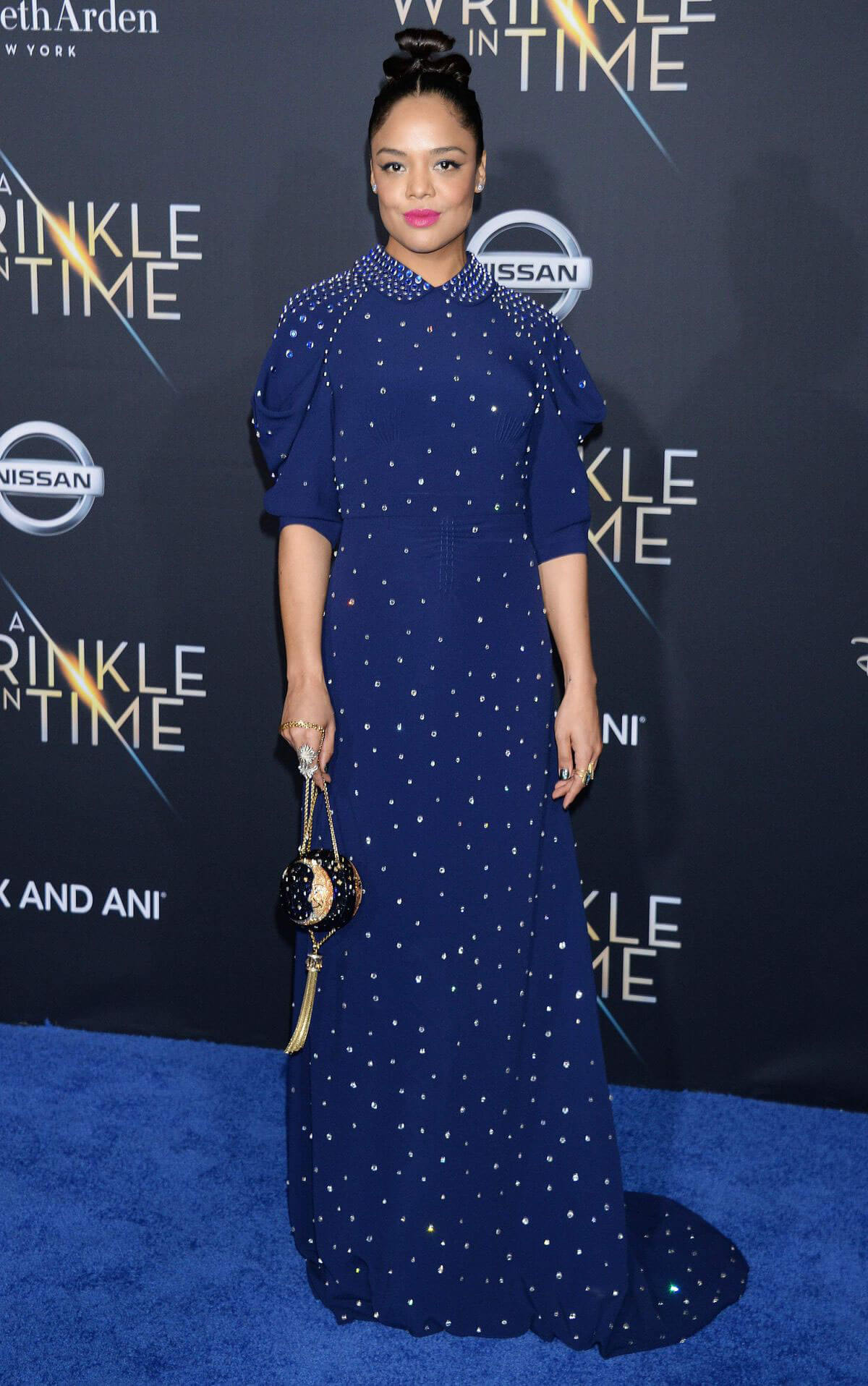 Tessa Thompson Stills at A Wrinkle in Time Premiere in Los Angeles 2018/02/26