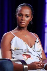 Tika Sumpter Stills at Final Space TV Show Panel TCA Winter Press Tour in Los Angeles 2018/01/11