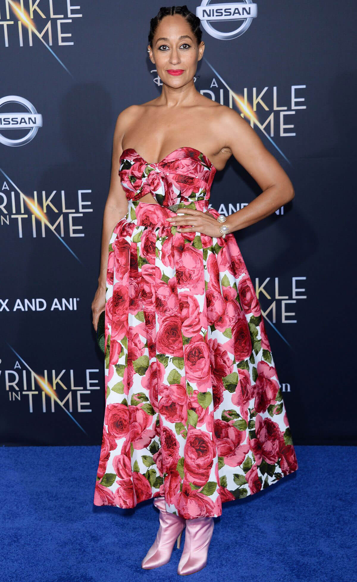 Tracee Ellis Ross Stills at A Wrinkle in Time Premiere in Los Angeles 2018/02/26