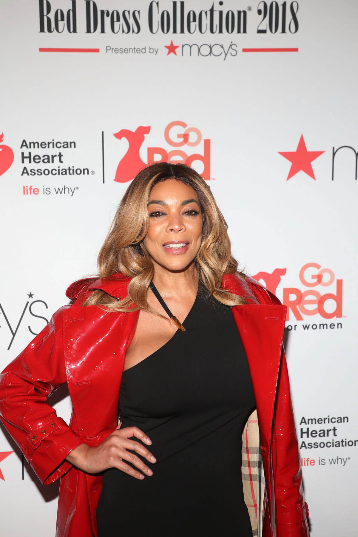5f8c093ad4e Wendy Williams Stills at Go Red for Women Red Dress Collection 2018  Presented by Macy s in New York 2018 02 08