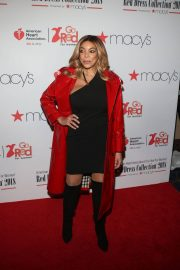 Wendy Williams Stills at Go Red for Women Red Dress Collection 2018 Presented by Macy's in New York 2018/02/08