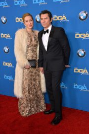Yvonne Phillips and Lou Diamond Phillips Stills at 2018 Directors Guild Awards in Los Angeles 2018/02/03
