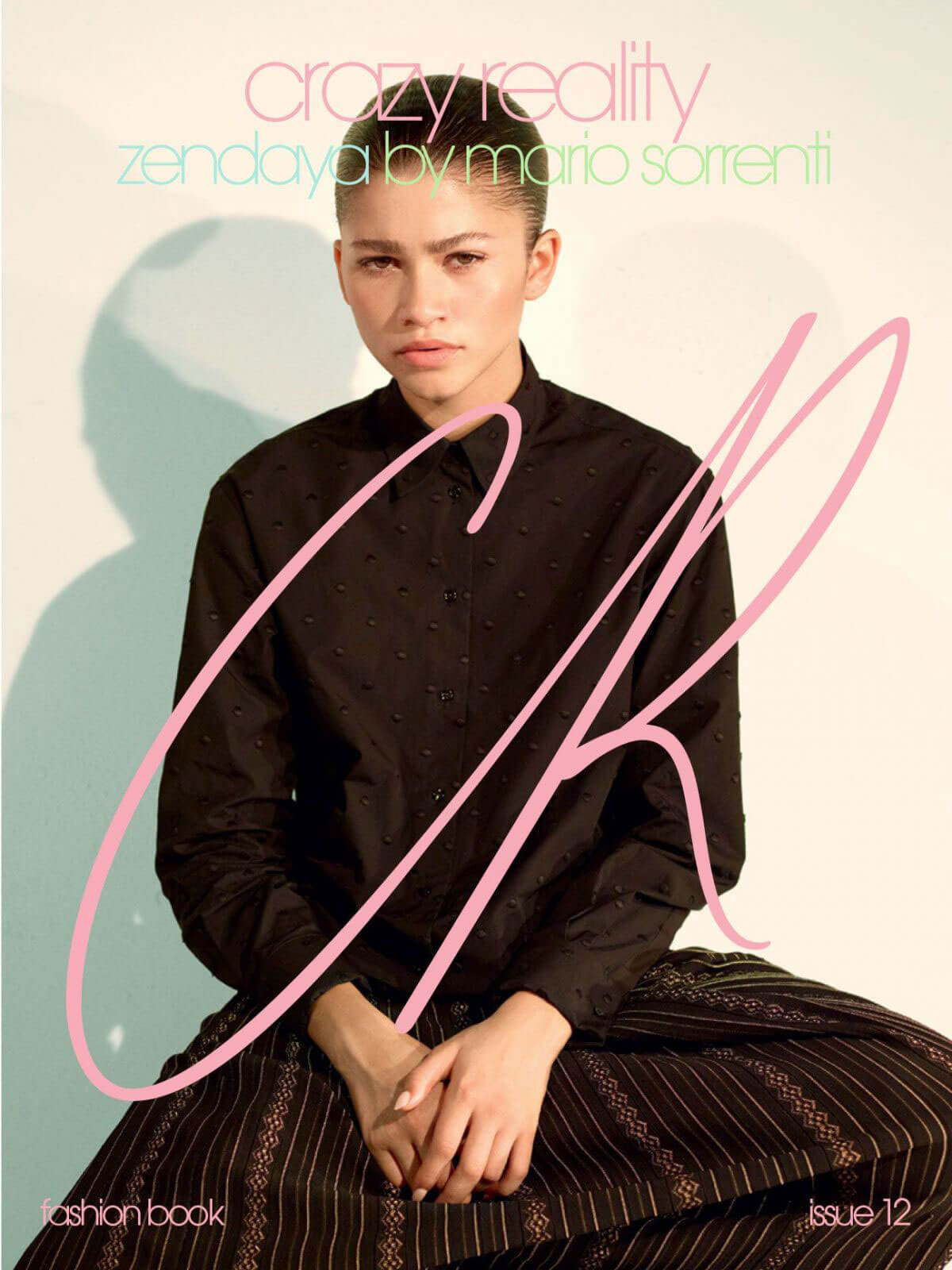 Zendaya Poses for CR Fashion Book 2018 Issue