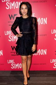 Alexandra Shipp Stills at Love, Simon Premiere in New York 2018/03/08
