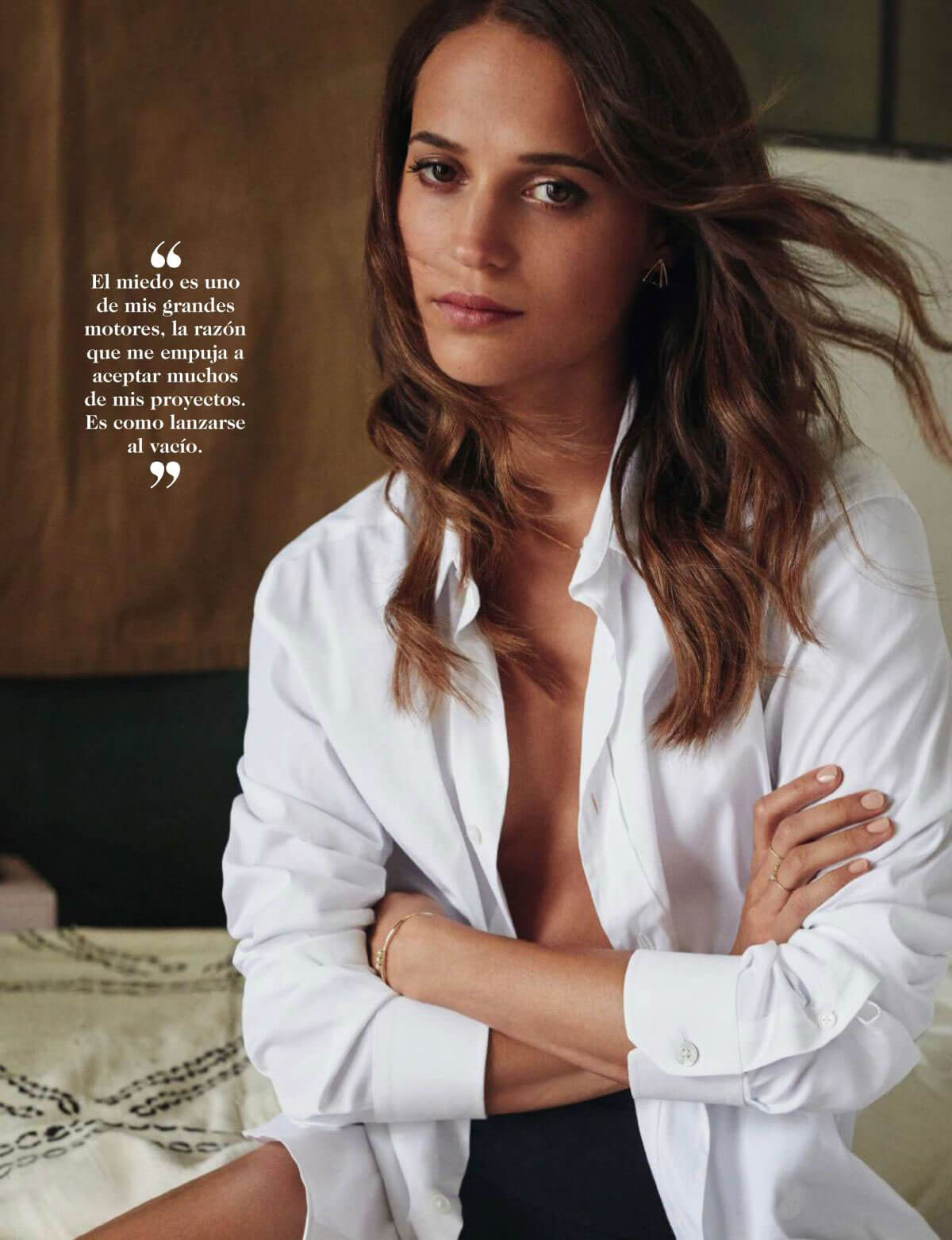 Alicia Vikander Stills in Fotogramas Magazine, Spain March 2018 Issue