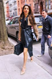 Amal Clooney Stills Out and About in New York 2018/03/27 3