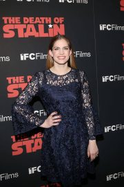 Anna Chlumsky Stills at The Death of Stalin Premiere in New York 2018/03/08