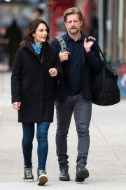 Annie Parisse and Paul Sparks Stills Out in New York 2018/03/28 1