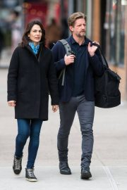 Annie Parisse and Paul Sparks Stills Out in New York 2018/03/28 3