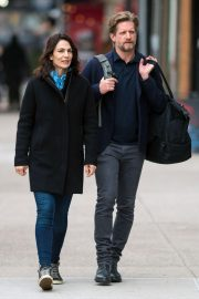 Annie Parisse and Paul Sparks Stills Out in New York 2018/03/28 4